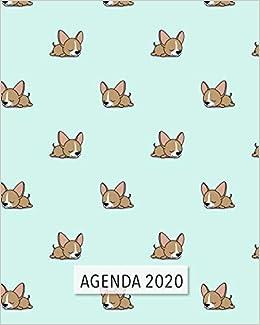 Agenda 2020: Diario Agenda Settimanale Datato con Calendario ...