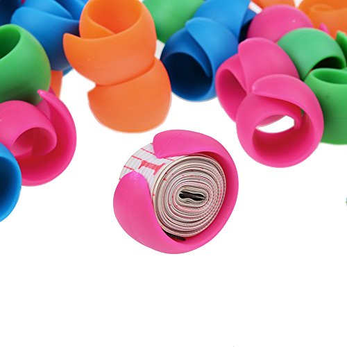 Peels Thread Spool Huggers for Sewing Machine to Prevent Thread Unwinding No Loose Ends Or Thread Tails (24 Pieces)
