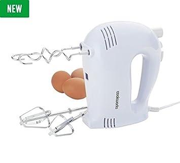 Cookworks - Cazuela Turbo Boost botón batidora de mano - blanco: Amazon.es: Hogar