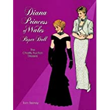 Diana, Princess of Wales, Paper Doll: The Charity Auction Dresses