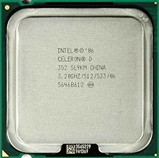 Intel Celeron D 352 3.20Ghz 533Mhz 512KB BX80552352 SL9KM (B000LOVX8I) | Amazon price tracker / tracking, Amazon price history charts, Amazon price watches, Amazon price drop alerts