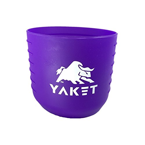 YAKET Grip Rambler Tumbler Purple
