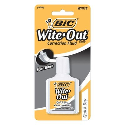 BIC BIC WITE OUT QUICK DRY PLUS EA, 1 EA
