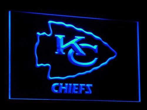 Kansas City Chiefs Neon Sign - Kansas City KC Chiefs Led Light Sign