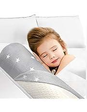 HBselect Espuma Barandilla Cama Seguridad Bebe Niño,Suave y Portátil Barandilla Protección De Cama Para Bebe Niñas