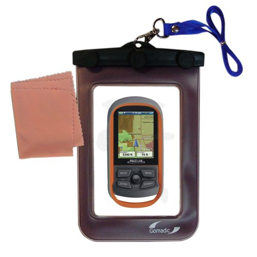 underwater case for the Magellan eXplorist Series - weather and waterproof case safely protects against the elements