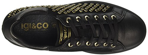 IGI Brogue Donna Dhn Stringate Nero Scarpe amp;CO 8798 Basse 74rUq7