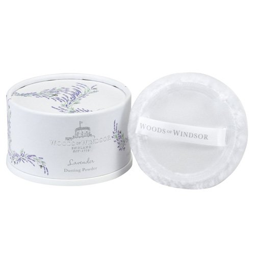 - Woods of Windsor Body Dusting Powder with Puff for Women, Lavender, 3.5 Ounce