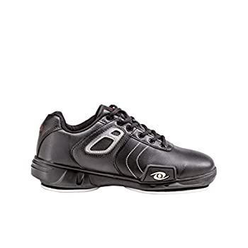 Image of Acacia 93-060 Hacker Curling Shoe, 6, Black/Silver Curling