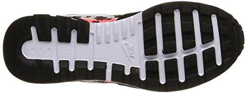 NIKE Schwarz Turnschuhe Air Pegasus New Racer Herren Sneaker 749669 006, - Black/Blanc-Hot Lava-Lnr Grey, 42 EU