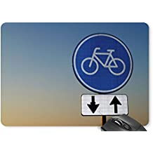 Mouse Mat Bicycle Sign Mouse Pad