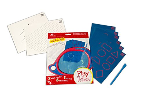 Boogie Board Play N' Trace Accessory Activity Pack, Letters & Numbers (ACPL10005)]()