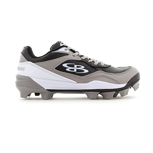 Boombah Womens Endura Molded Cleats - 18 Color Options - Multiple Sizes Black/Gray TSPHL8m2dC