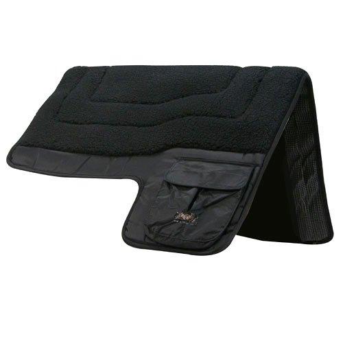 Intrepid International Western Pocket Saddle Pad, Black
