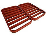 Roasting Racks for Pans - Oven Racks | Large Baking Racks for Oven Use - Roast Racks Nonstick - Red (2 Pack) by STAN BOUTIQUE