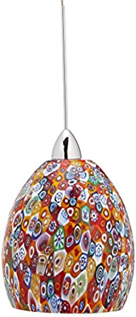 WAC Lighting QP515-MF/CH Fiore Quick Connect Pendant with ...