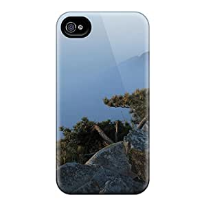 Tpu Fashionable Design Five Old Man Peaks Jiangxi China Rugged Case Cover For Iphone 4/4s New