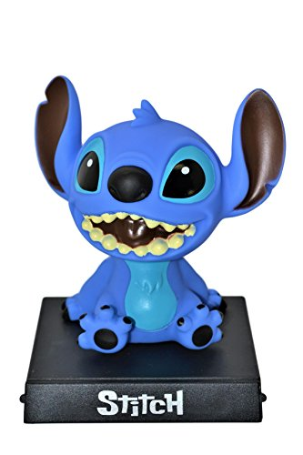 Disney Bobble Heads - Disney Stitch PVC Bobblehead Figure Car Accessories Dashboard Office Home Ultra Detail Doll