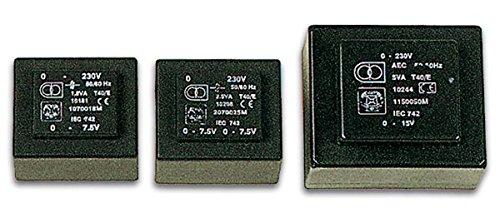 Velleman 138783 Printtrafo, 1.2VA, 1 x 6V, 1 x 0.200 Amp