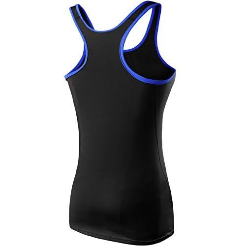6e302a1291d48b Neleus Women s 3 Pack Compression Base Layer Dry Fit Tank Top ...