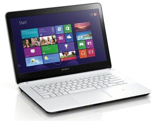 Sony VAIO Fit Series SVF14212CXW 14-Inch Core i3 Laptop