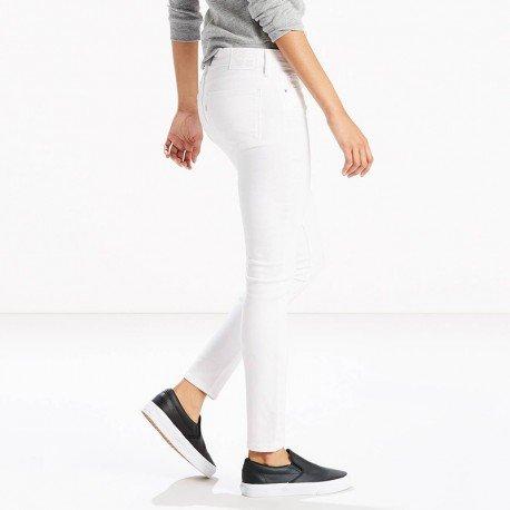Femme Soft Skinny Clean Jean Blanc 711 Levi's nOqAw8BfY
