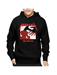 Mens Kill'Em All Studio Album Metallica FashionHoodies Sweatshirt Lightweight