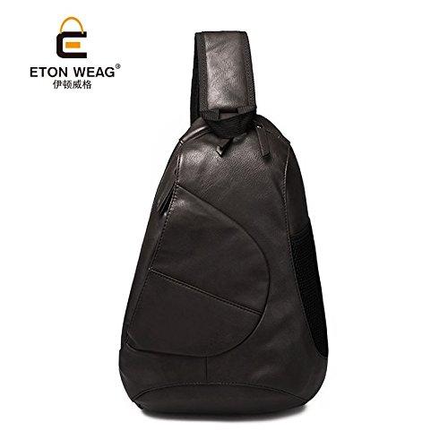 Hongrun Version coréenne de la tendance de la mode Mens chest Pack est un package de poitrine de grande capacité sac Messenger pack Ride oigp3r