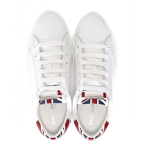 DSQUARED2 TENNIS CLUB FLAG UK MAN SNEAKERS