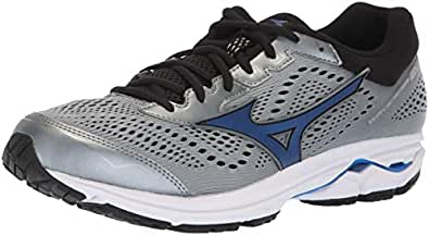 Mizuno Men's Wave Rider 22 Running Shoe Monument/Black, 7 D US