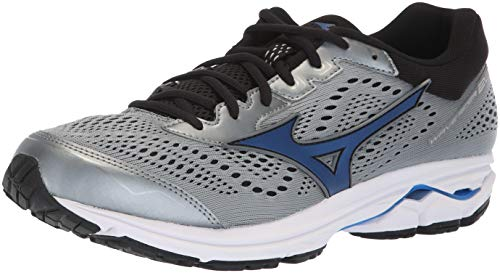 Mizuno Men's Wave Rider 22 Running Shoe, Monument/Black, 11.5 2E US