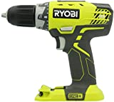 Ryobi P208 One+ 18V Lithium Ion Brushless Drill / Driver with 1/2 Inch Keyless Chuck (Batteries Not Included, Power Tool Only)