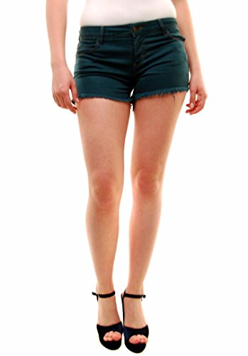 Siwy Jean Shorts (Siwy Women's Rosemary Alia Denim Shorts Green Size 26)