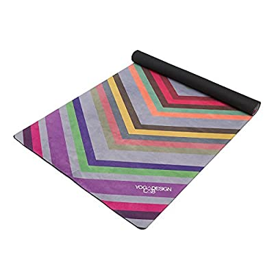 The Combo Yoga Mat LITE. Luxurious, Non-slip, Combo Mat/Towel Designed to Grip the More You Sweat! Two Products in One (Mat/Towel). 1.5mm thick, Foldable, Reversible, Machine Washable, Eco-Friendly, Biodegradable Materials. Ideal for Bikram, Hot Yoga, Pil