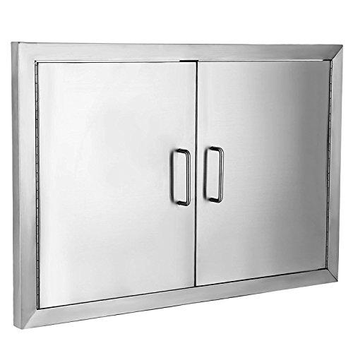 Stainless Steel Barbecue Doors - Z-bond Flush Access Door 304 Stainless Steel BBQ Doors 19