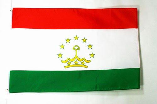 TAJIKISTAN FLAG 3' x 5' - TAJIK FLAGS 90 x 150 cm - BANNER 3x5 ft - AZ FLAG