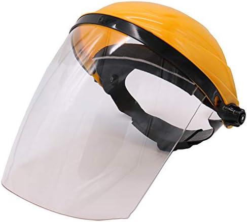 FanLe Protección de conducción para Pantalla de Soldadura eléctrica montada en la Cabeza Protección de Soldadura de Alta Temperatura Pantalla Facial Cubierta de la Cabeza A Prueba de Salpicaduras