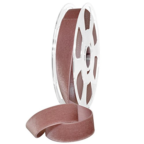 Morex Ribbon 01225/10-263 Nylon Nylvalour Velvet Ribbon, 7/8