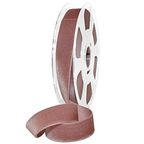 Morex Ribbon 01225/10-263 Nylon Nylvalour Velvet Ribbon, 7/8
