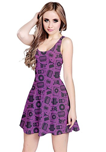 CowCow - Vestido - para mujer Purple Radio