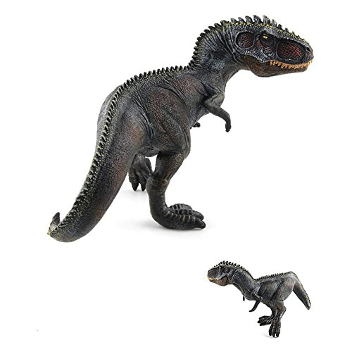 Giganotosaurus Dinosaur (Qiyun Creative Simulate Action Figure Model Dinosaur Toy for Decoration Christmas Halloween Gift Educationstyle:Black Giganotosaurus)