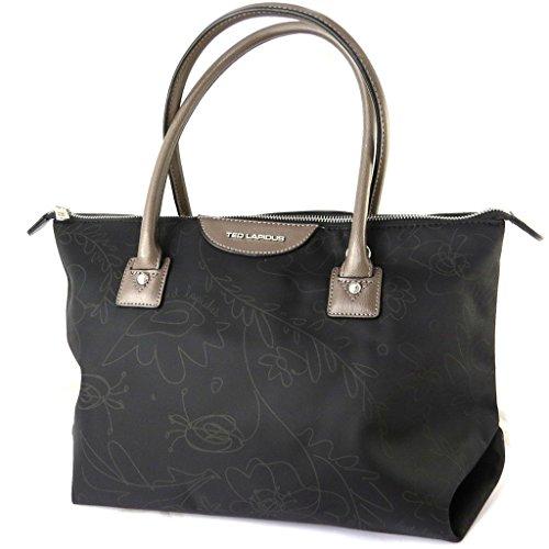 Bag designer Ted Lapidusfloreale nero - 42x24.5x17 cm.
