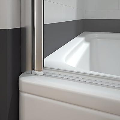 Mampara Bañera Abatible 1 Hoja Pivotante Cristal 5mm Antical 80x140cm: Amazon.es: Bricolaje y herramientas