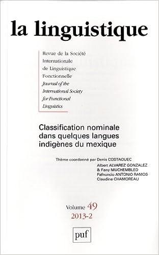 Livres gratuits en ligne La linguistique 2013 - vol.49 - n° 2 pdf ebook