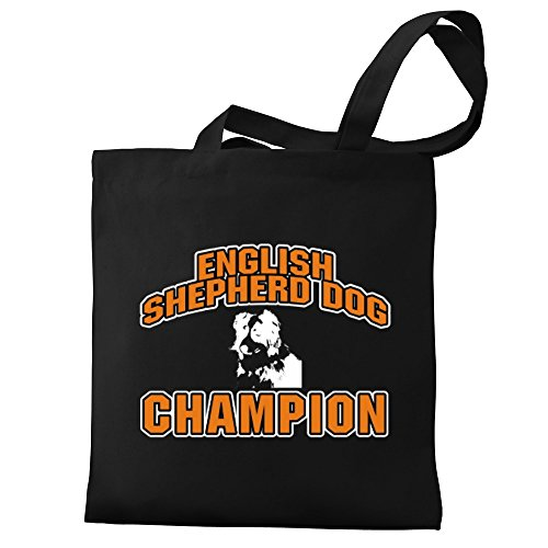 Eddany Canvas Tote Bag Shepherd Eddany Tote Canvas champion Bag Dog champion Shepherd Eddany English Dog English English r1xwq1tZ