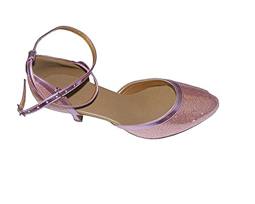 Colorful WaterCube shoes Purple Silver Ballroom Gold Pink Lady Blue Pink Dance modern dOOqrnF7