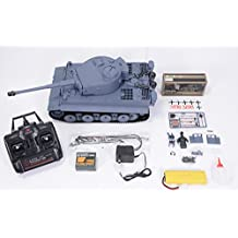 HengLong 2.4GHz German Tiger 1, RC 1:16 scale Battle Tank, Ready-to-run 3818-1