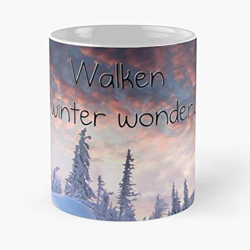 (Christopher Walken Winter Wonderland - Coffee Mugs Unique Ceramic Novelty Cup)
