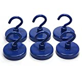 "CMS Magneitcs Ceramic Magnet Hook 1 1/4"" in"