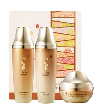 KOREAN-COSMETICS-Danahan-Anti-wrinkle-3-piece-set-Cream50ml-Skin160ml-Lotion-160ml-Moisturizinghigh-nutrition-herbal-skin-lotion-set001KR